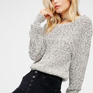 Free People Electric City Pullover Knit Sweater